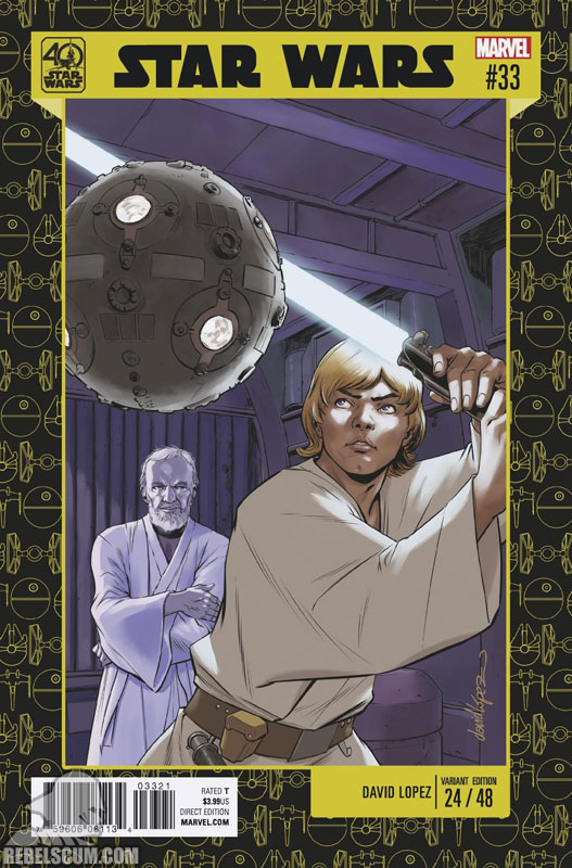 Star Wars 33 (David Lopez 40th Anniversary variant)