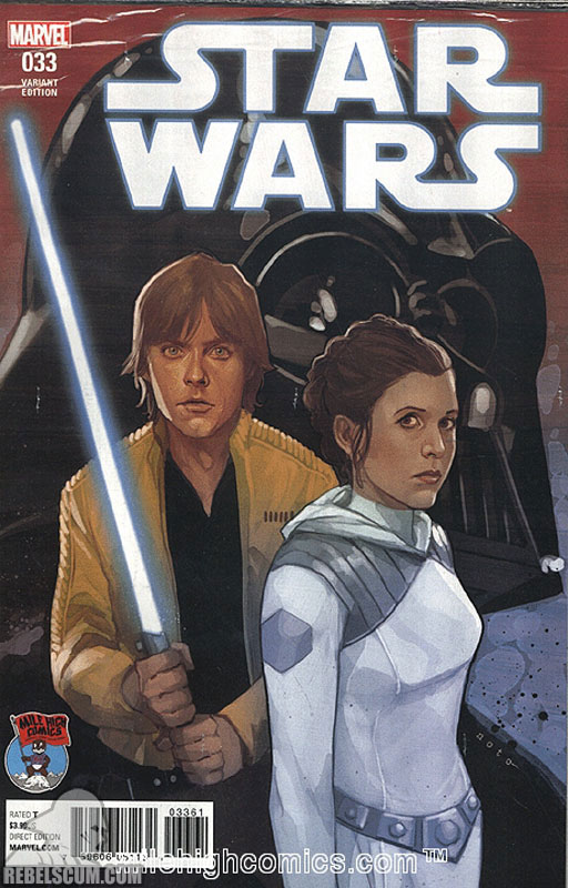 Star Wars 33 (Phil Noto Mile High Comics variant)