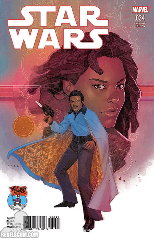 Star Wars 34 (Phil Noto Mile High Comics variant)