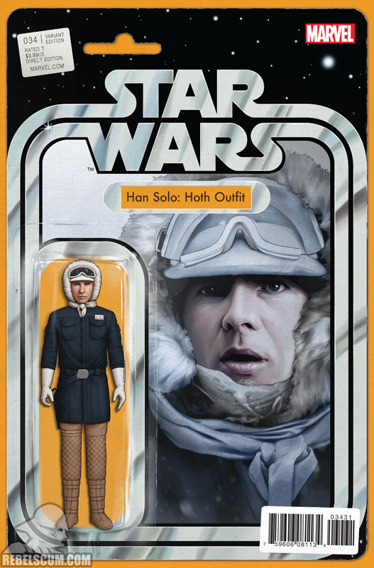 Star Wars 34 (John Tyler Christopher Action Figure  variant)
