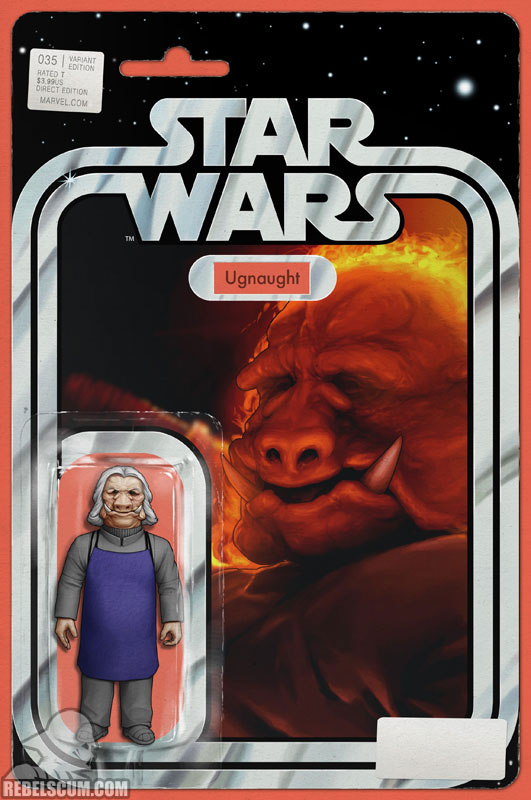 Star Wars 35 (John Tyler Christopher Action Figure  variant)