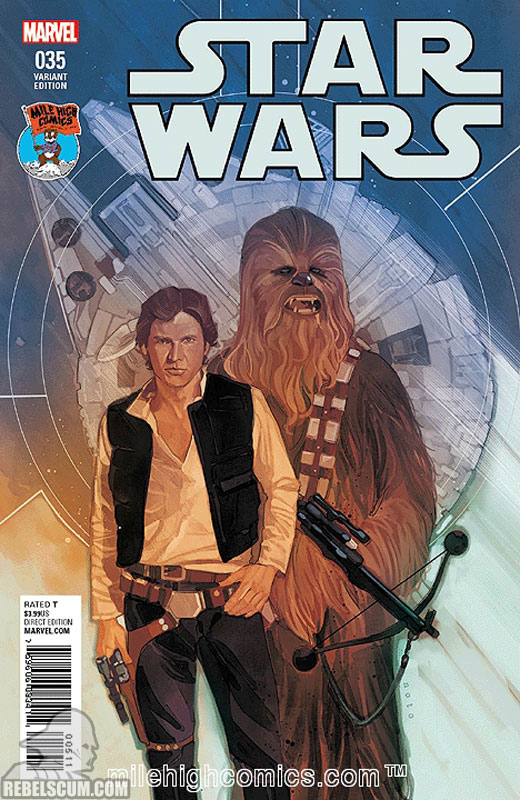Star Wars 35 (Phil Noto Mile High Comics variant)