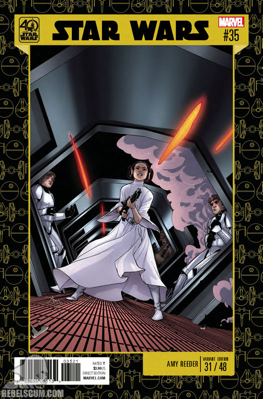 Star Wars 35 (Amy Reeder 40th Anniversary variant)