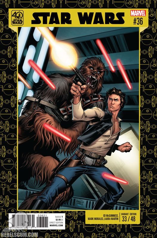 Star Wars 36 (Ed McGuinness 40th Anniversary variant)