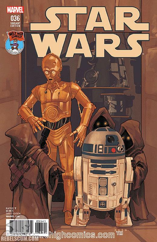 Star Wars 36 (Phil Noto Mile High Comics variant)