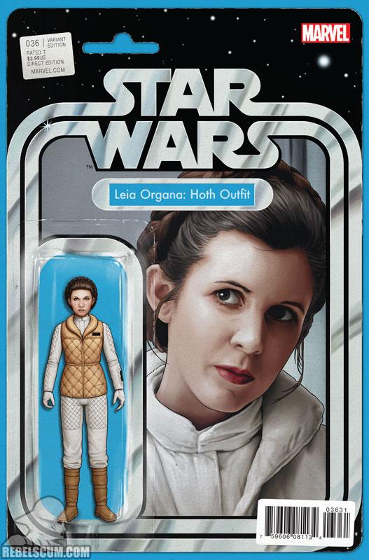 Star Wars 36 (John Tyler Christopher Action Figure  variant)