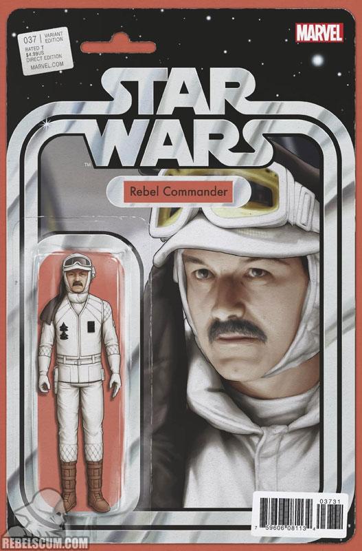 Star Wars 37 (John Tyler Christopher Action Figure  variant)