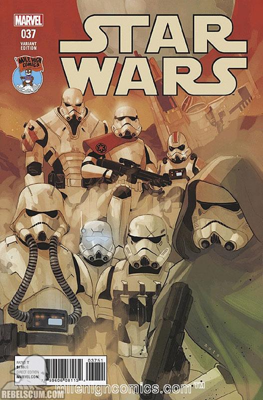 Star Wars 37 (Phil Noto Mile High Comics variant)