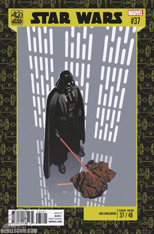 Star Wars 37 (Greg Smallwood 40th Anniversary variant)
