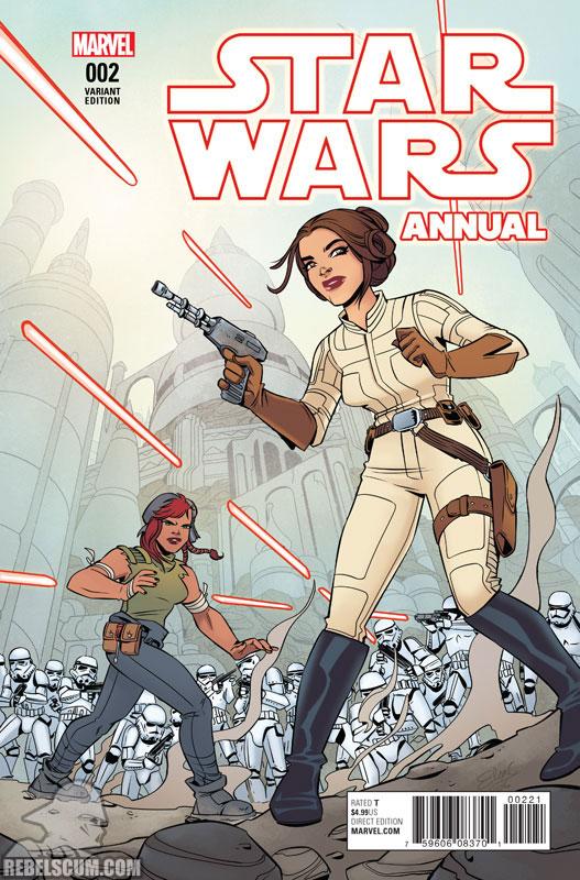 Star Wars Annual 2 (Elsa Charretier variant)