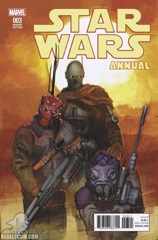 Star Wars Annual 3 (Rod Reis variant)