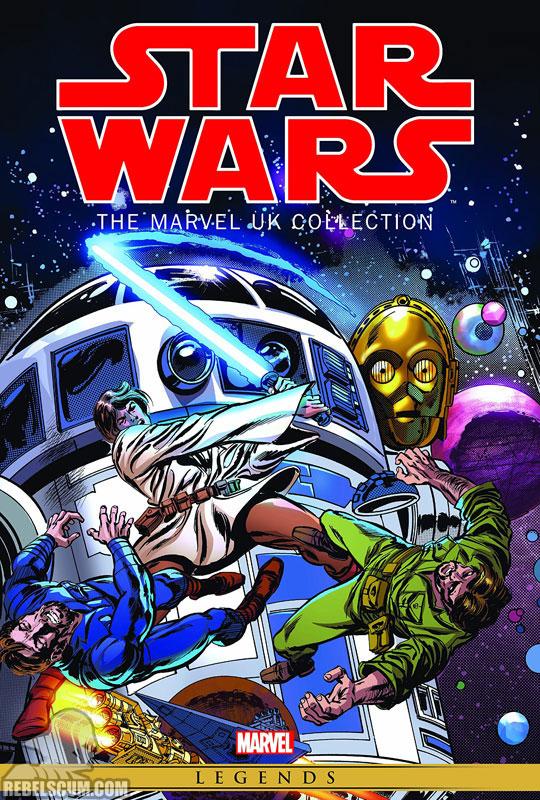 The Marvel UK Omnibus Hardcover #1