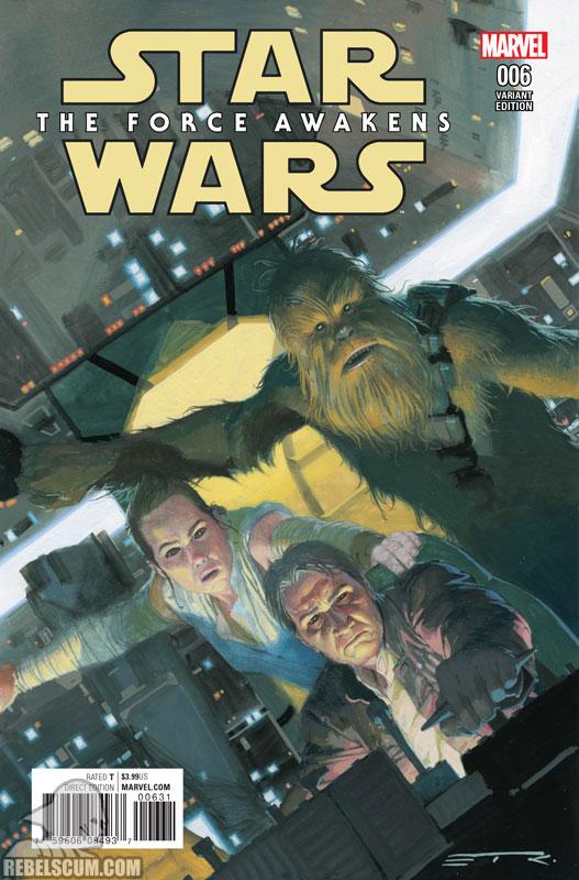 The Force Awakens 6 (Esad Ribic variant)