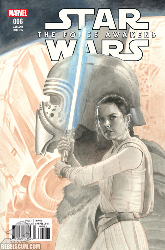 The Force Awakens 6 (Paolo Rivera sketch variant)