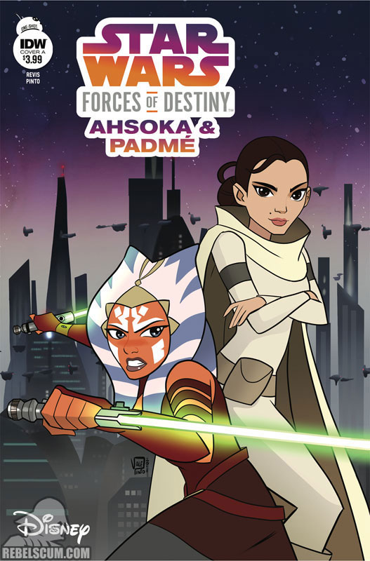 Star Wars Adventures: Forces of Destiny – Ahsoka & Padmé