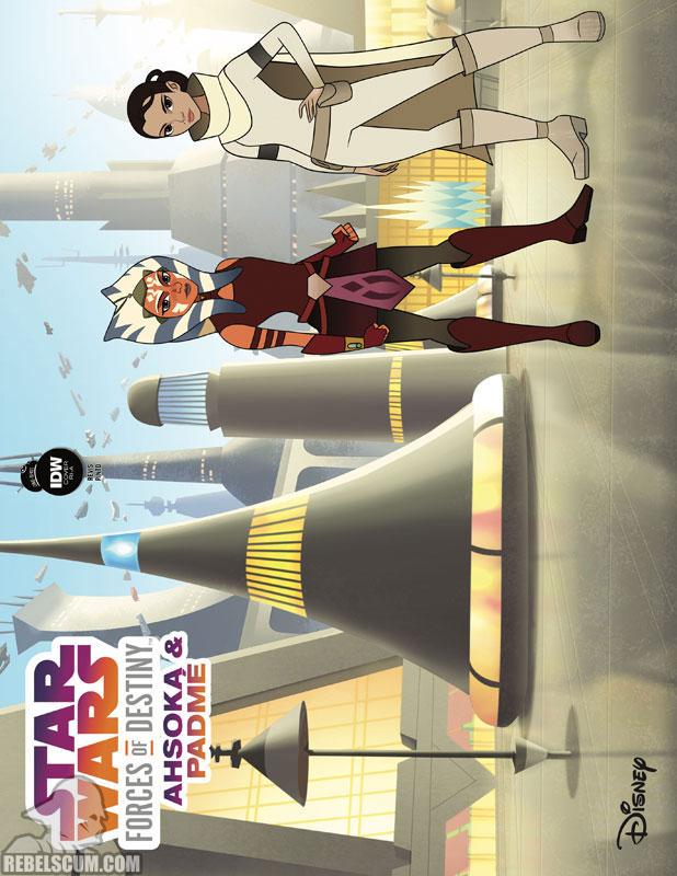 Forces of Destiny - Ahsoka and Padme (Animation variant)