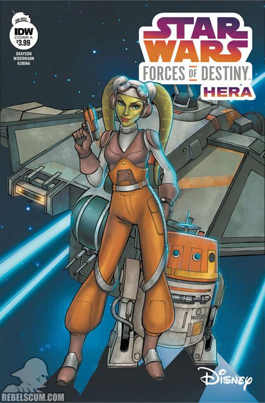 Star Wars Adventures: Forces of Destiny – Hera