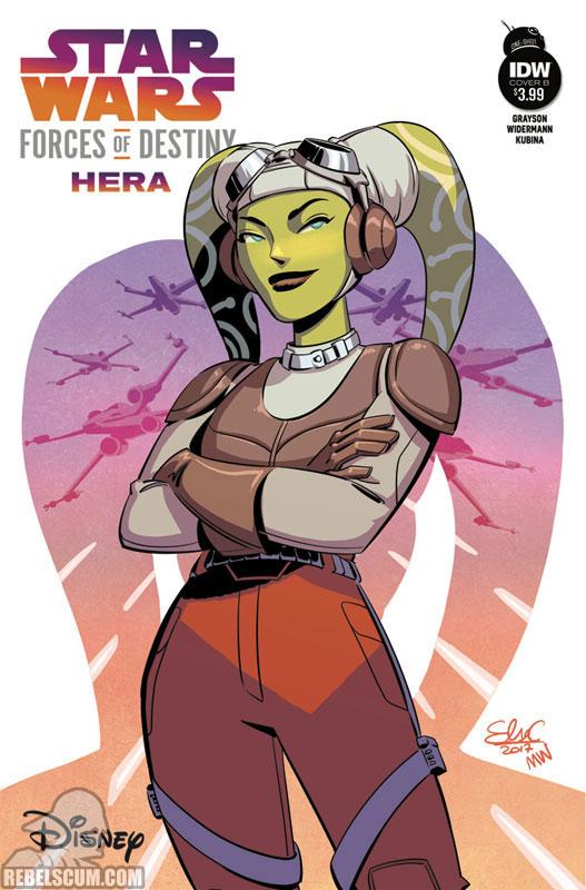 Forces of Destiny - Hera (Elsa Charretier variant)