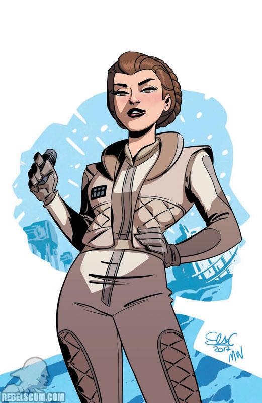 Forces of Destiny - Leia (Elsa Charretier Convention variant)