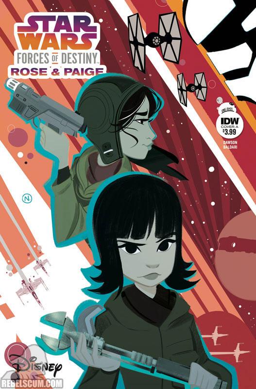 Star Wars Adventures: Forces of Destiny – Rose & Paige