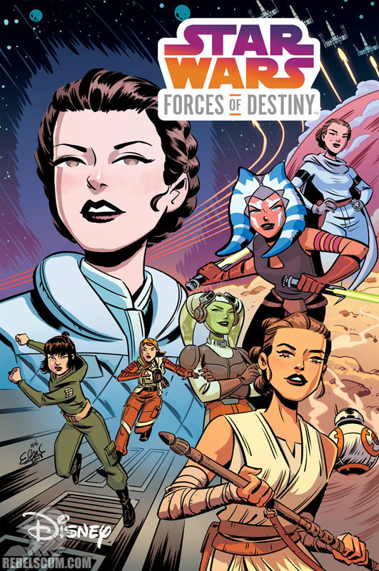 Star Wars Adventures: Forces of Destiny TPB