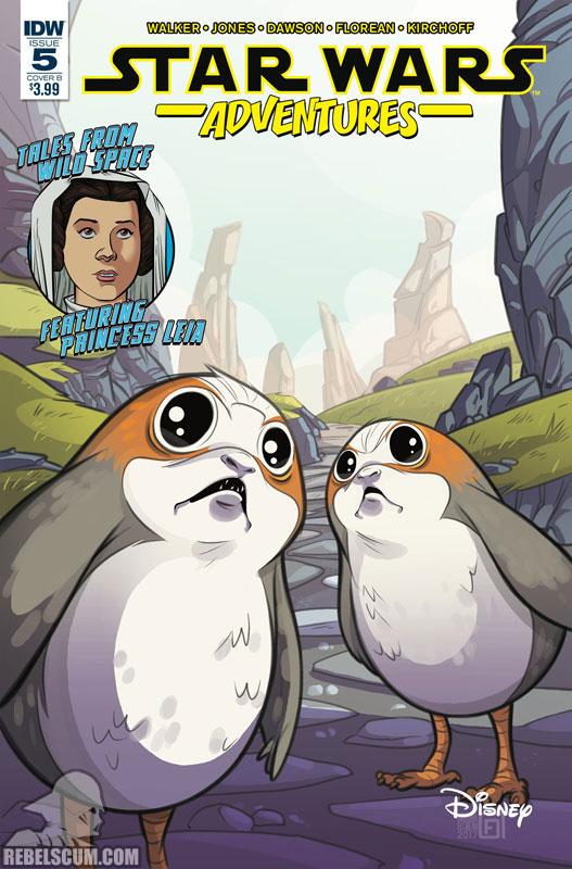 Star Wars Adventures 5 (Arianna Florean variant)