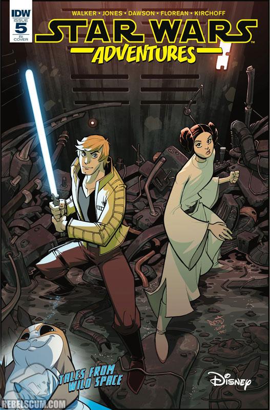 Star Wars Adventures 5 (Jon Sommariva variant)