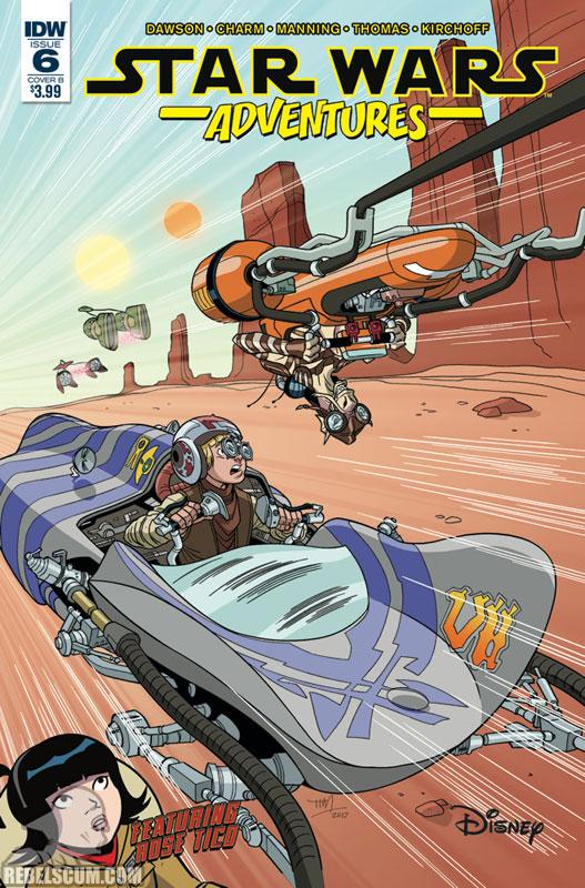 Star Wars Adventures 6 (Tim Levins variant)