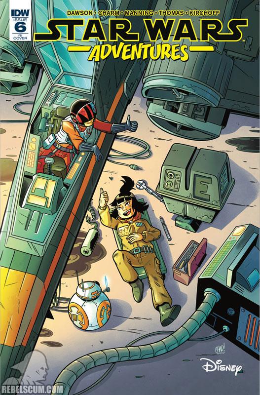 Star Wars Adventures 6 (Chad Thomas & Jordan Boyd variant)