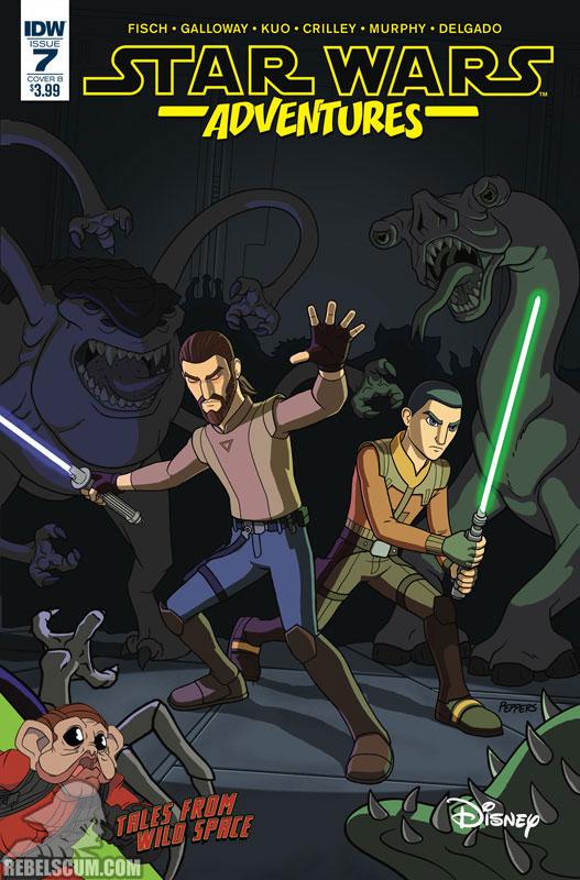 Star Wars Adventures 7 (Jamal Peppers variant)