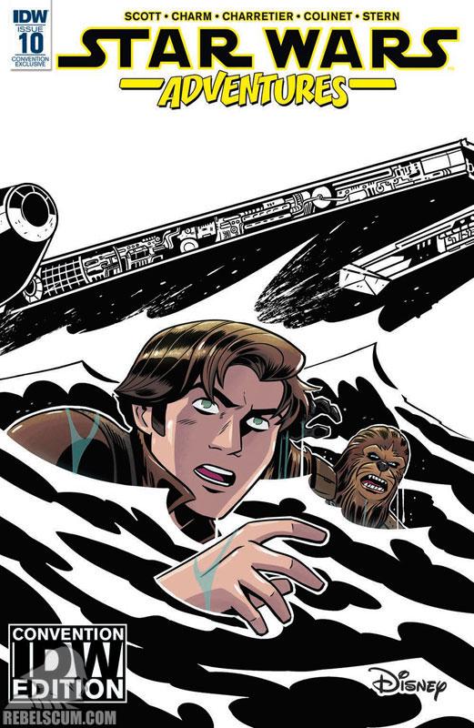 Star Wars Adventures 10 (Derek Charm IDW Convention variant)