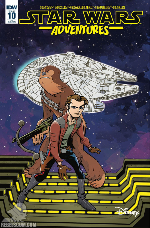 Star Wars Adventures 10 (Mike Oeming variant)
