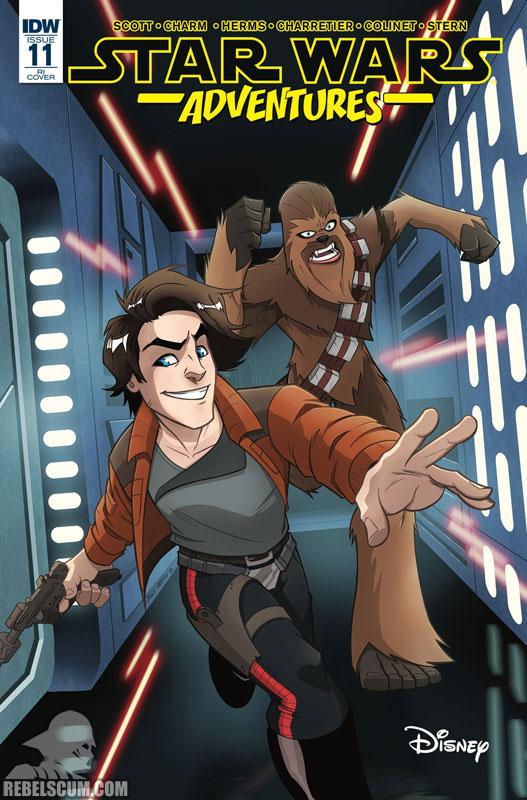 Star Wars Adventures 11 (Billy Martin variant)