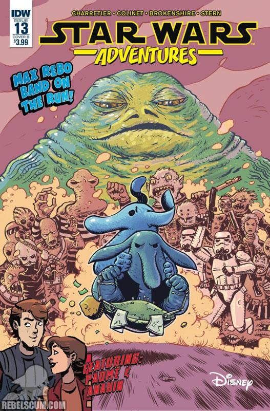 Star Wars Adventures 13 (Nick Brokenshire variant)