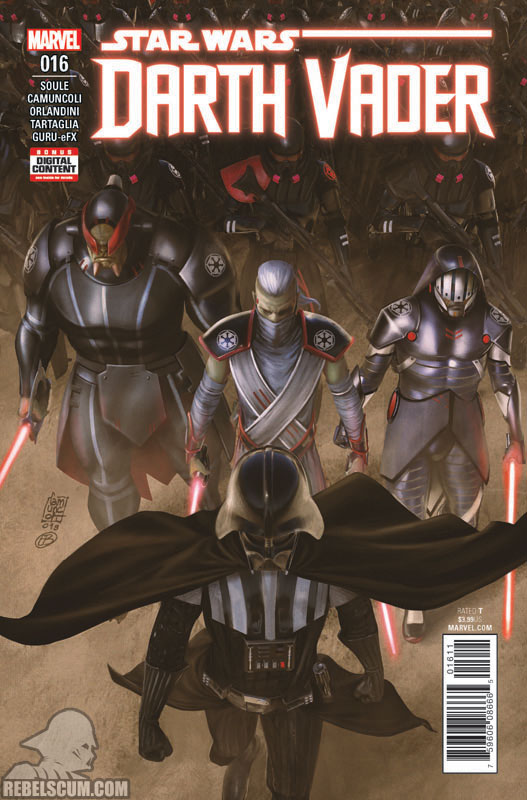 Darth Vader: Dark Lord of the Sith #16