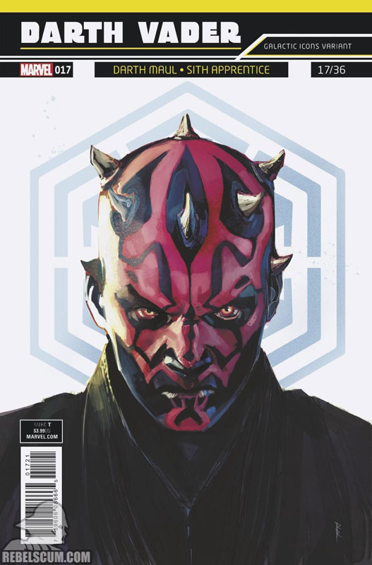 Darth Vader: Dark Lord of the Sith 17 (Rod Reis Galactic Icon variant)