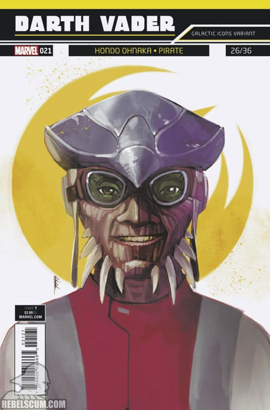 Darth Vader: Dark Lord of the Sith 21 (Rod Reis Galactic Icon variant)
