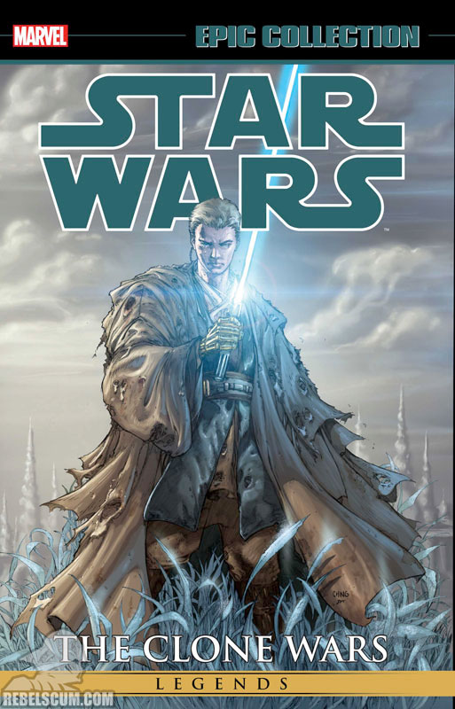 Star Wars Legends Epic Collection: The Clone Wars Trade Paperback #2