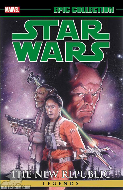 Star Wars Legends Epic Collection: The New Republic Trade Paperback 3
