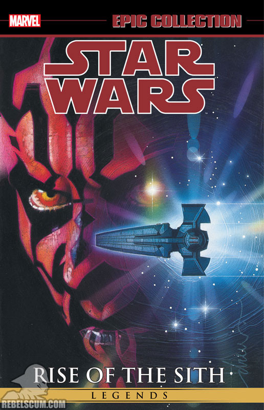 Star Wars Legends Epic Collection: Rise of The Sith Trade Paperback #2