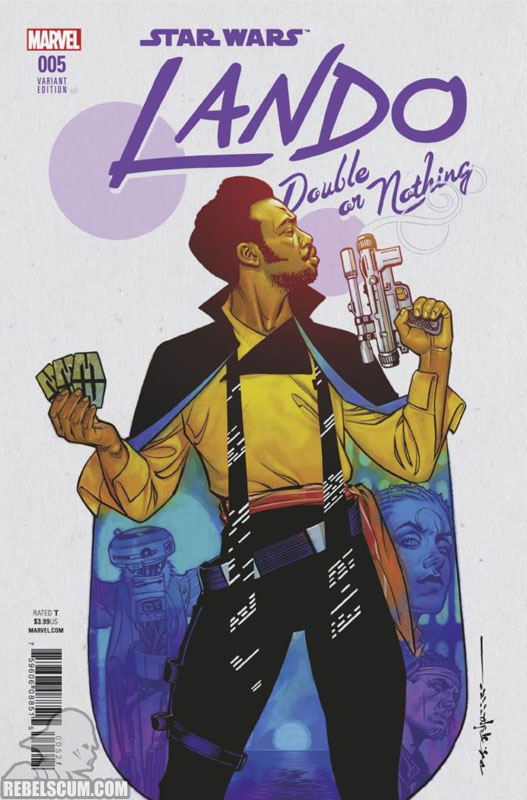 Lando: Double or Nothing (Brian Stelfreeze variant)