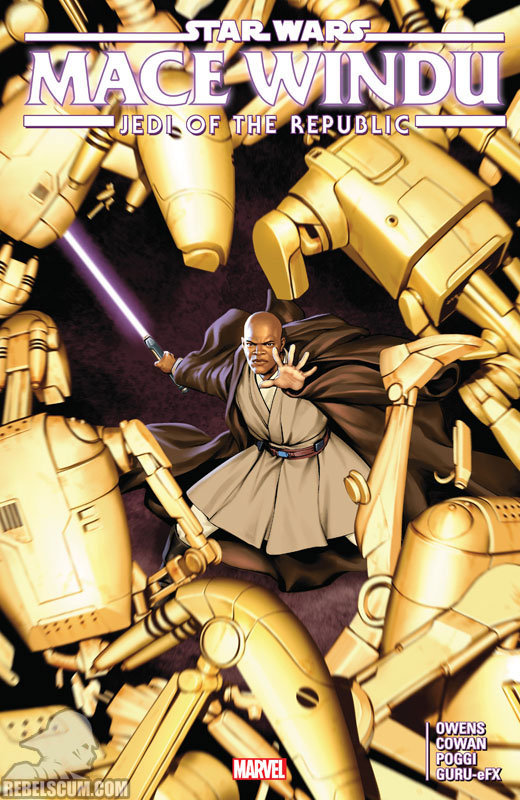 Jedi of the Republic – Mace Windu Trade Paperback #1