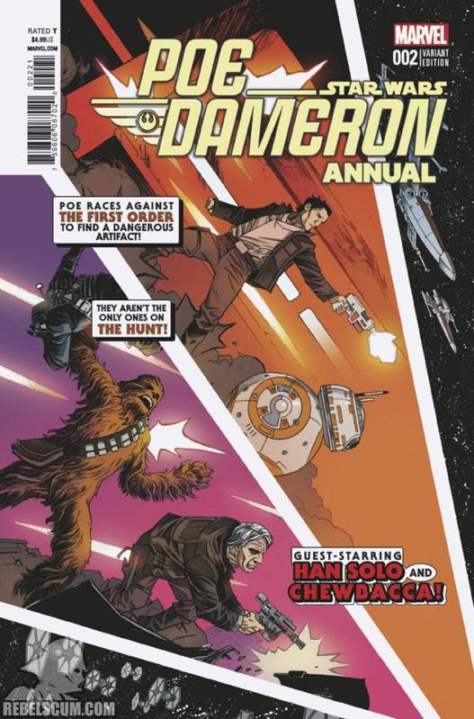 Poe Dameron Annual 2 (Declan Shalvey/Triona Farrell variant)