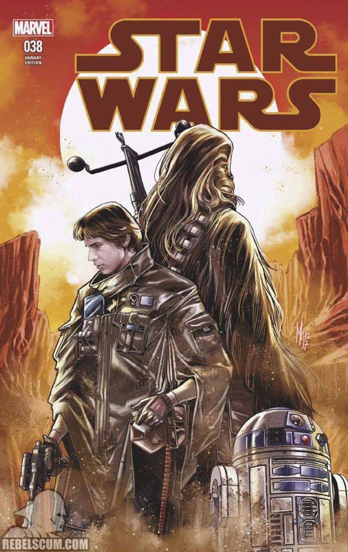 Star Wars 38 (Marco Checchetto variant)