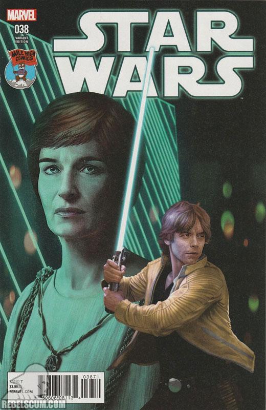 Star Wars 38 (Razzah Mile High Comics variant)