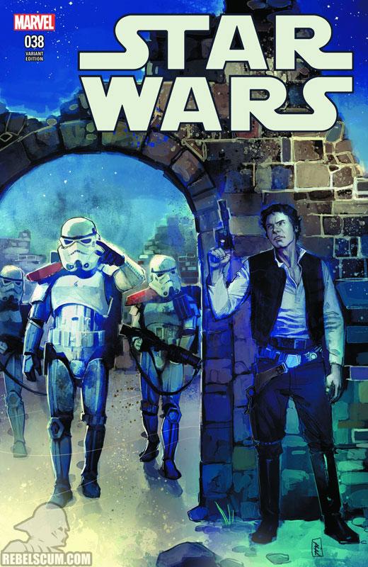 Star Wars 38 (Rod Reis Jesse James Comics variant)