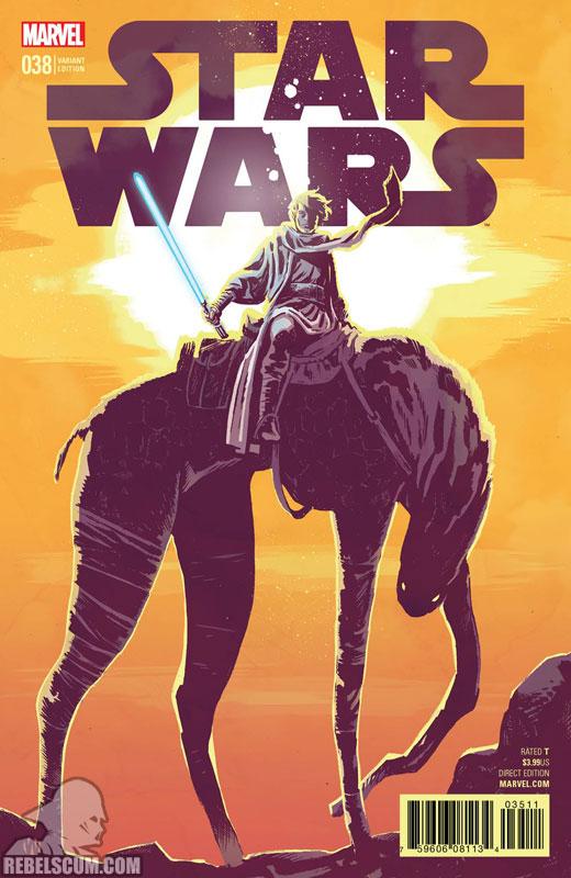 Star Wars 38 (Michael Walsh variant)