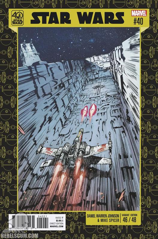 Star Wars 40 (Daniel Warren Johnson 40th Anniversary variant)