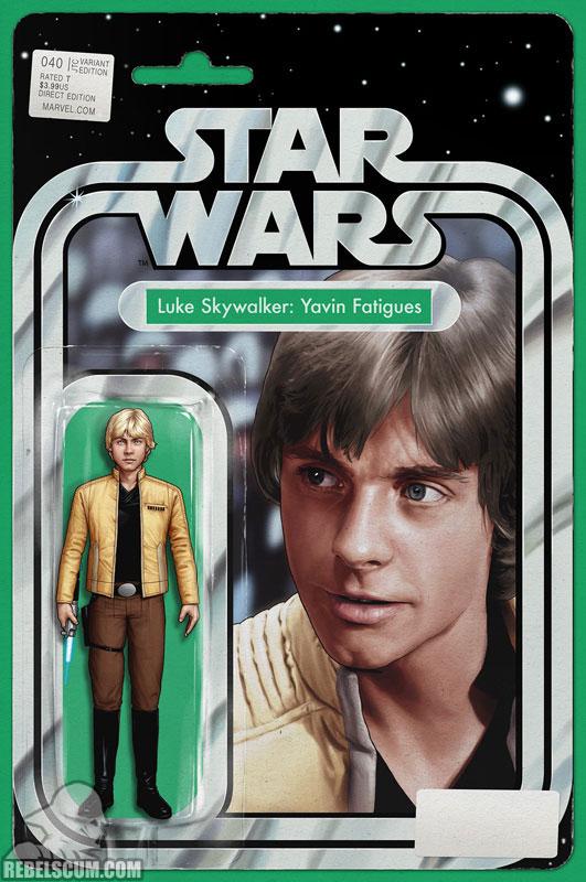 Star Wars 40 (John Tyler Christopher action figure variant)