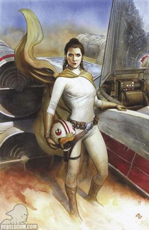 Star Wars 40 (Adi Granov virgin variant)